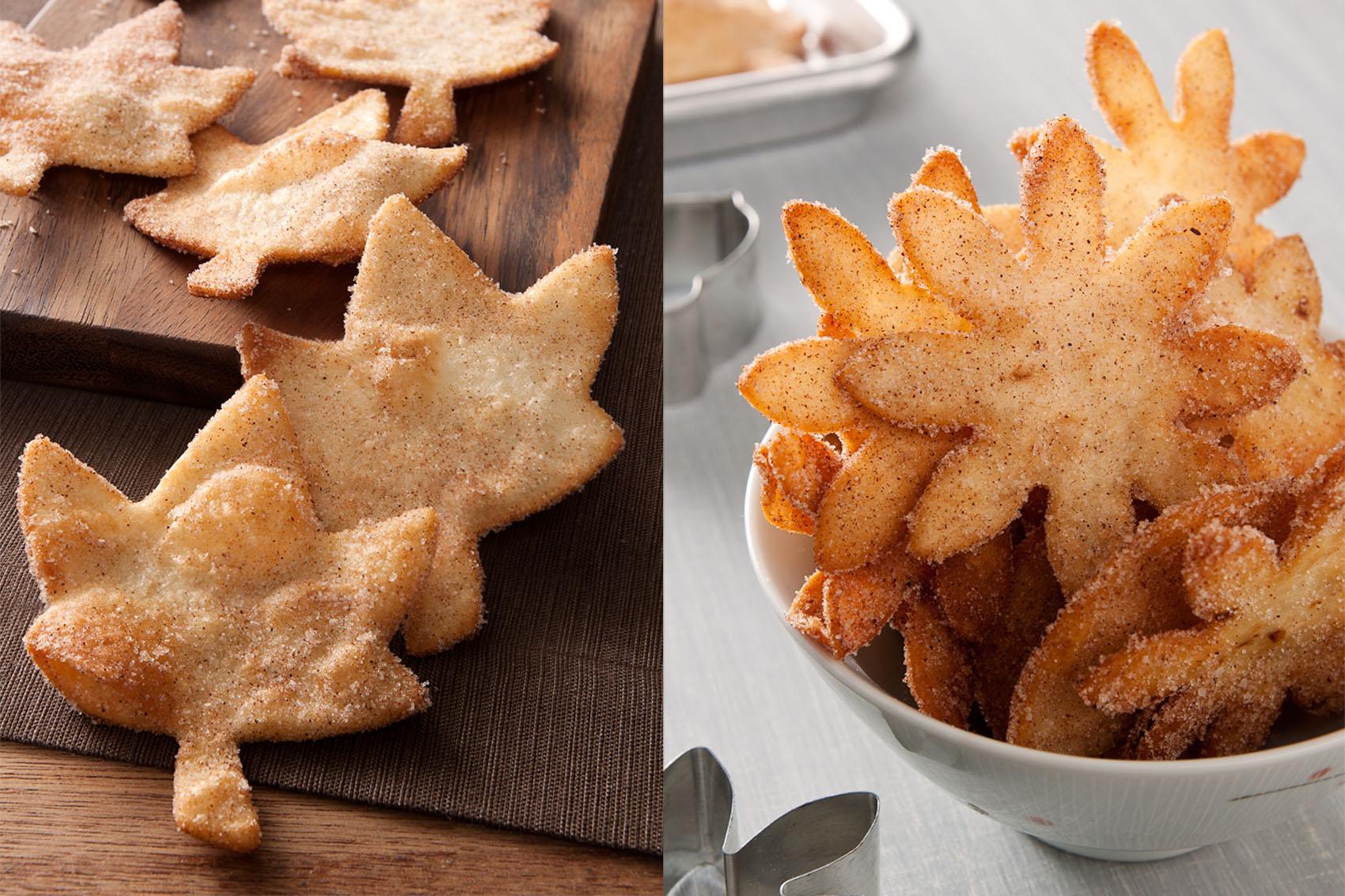 Fried Cinnamon Sugar Tortillas Amp My Love Of Fall I Bake
