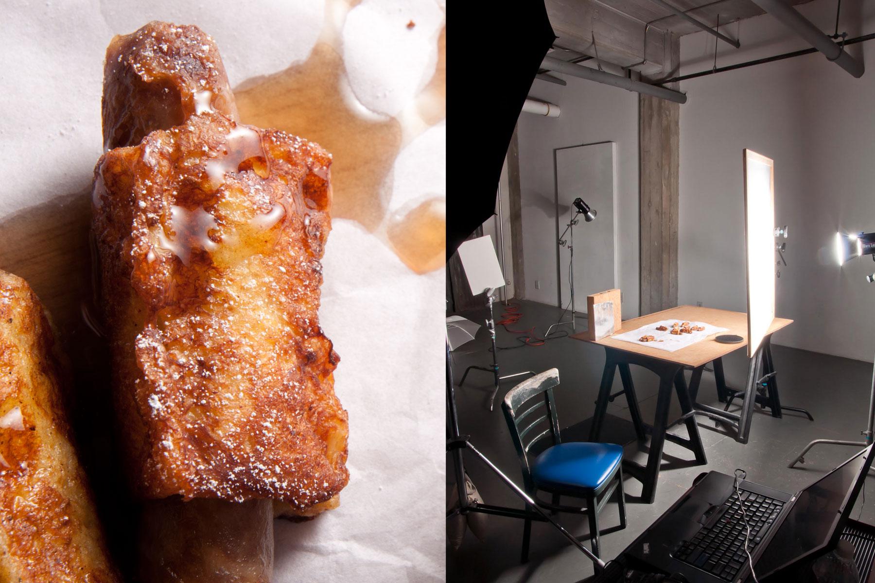behind the scenes breakfast panels