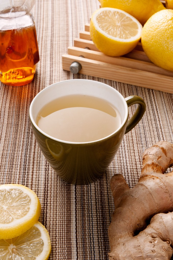 Ginger Lemon Tea: the perfect Winter concotion. It cures and soothes simultaneously.
