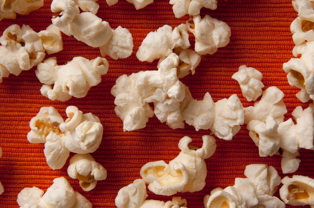 Stove Top Popcorn. Do it like your grandma did it. Ditch your microwave and leave the gamma rays behind.