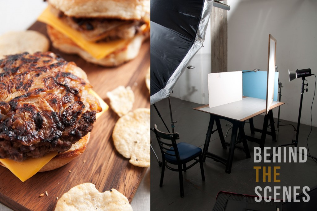 Behind the scenes - onion burger