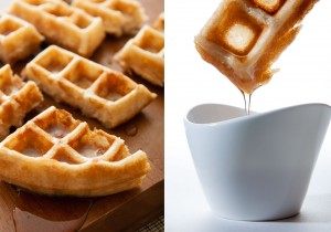They're called Waffles of Insane Greatness for a reason. Crispy and fluffy waffles by I bake he shoots.