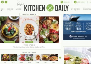 Kitchen Daily invited us tp be a part of their Contributor Network. Woo hoo!