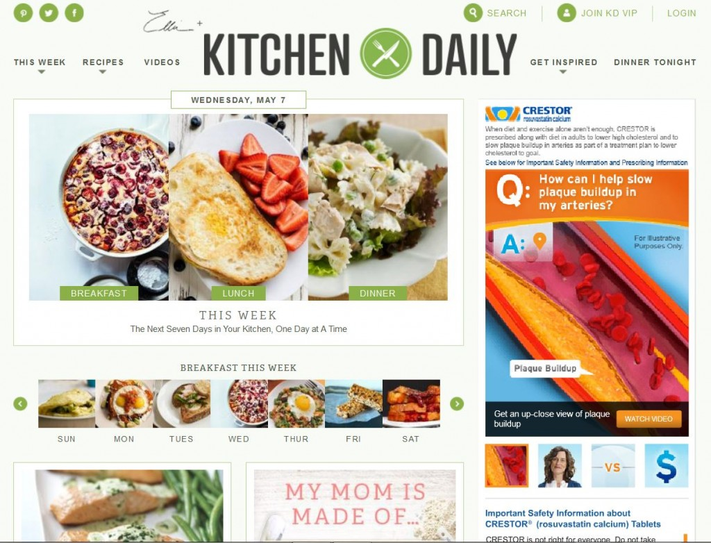 Our Grilled Cheese Egg in the Hole recipe is featured on Kitchen Daily today!