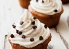 Take those ripe bananas and make Banana Chocolate Chip Cupcakes. They're moist, sweet, and the frosting is to die for! | ibakeheshoots.com