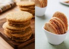 You need to make these Spicy Cheddar Rosemary Sables. They're buttery, crispy and the perfect snack for cocktail hour.   ibakeheshoots.com