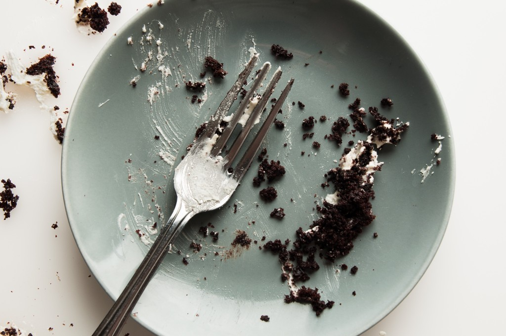 Easy Dark Chocolate Cake: an easy and super-moist cake that's perfectly sized for a celebration for two. | ibakeheshoots.com