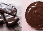 No Bake Peanut Butter Cup Pie by ibakeheshoots.com. Easy to make and taste just like the real thing!