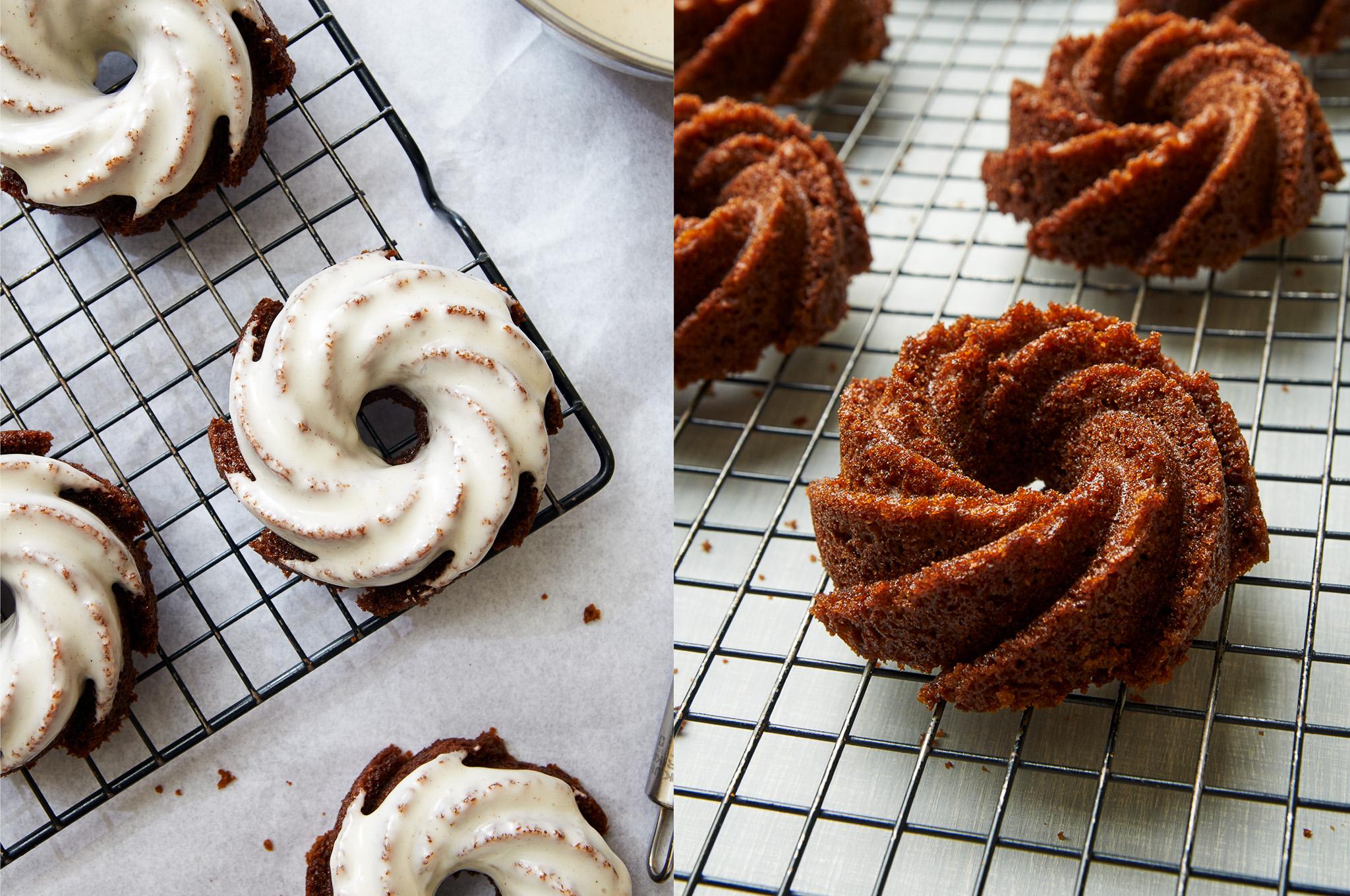 Gingerbread Bundt Cakes - I bake he shoots