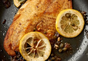 Easy Tilapia Piccata: when you need dinner to be ready in 15 minutes. | ibakeheshoots.com