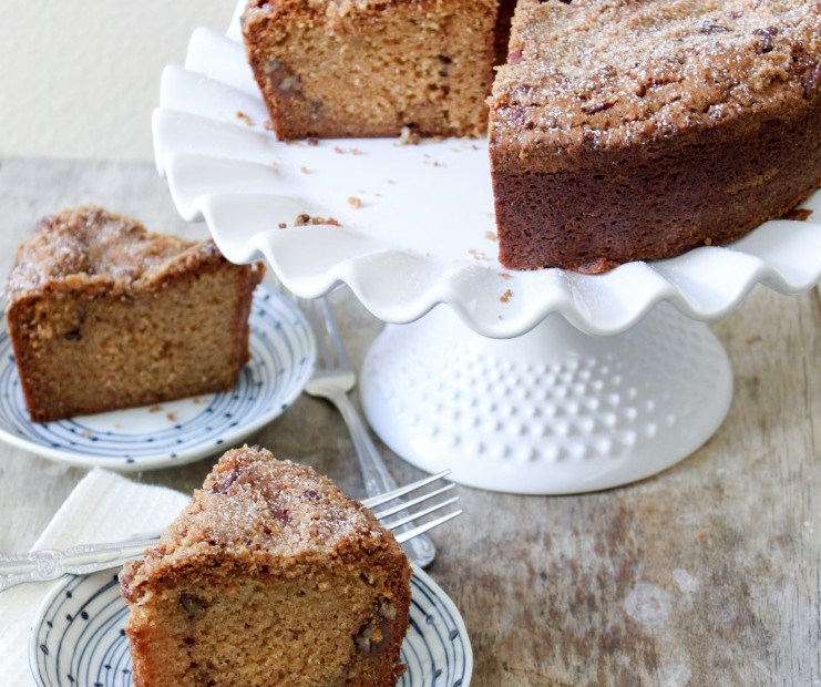 Chai Spiced Coffee Cake