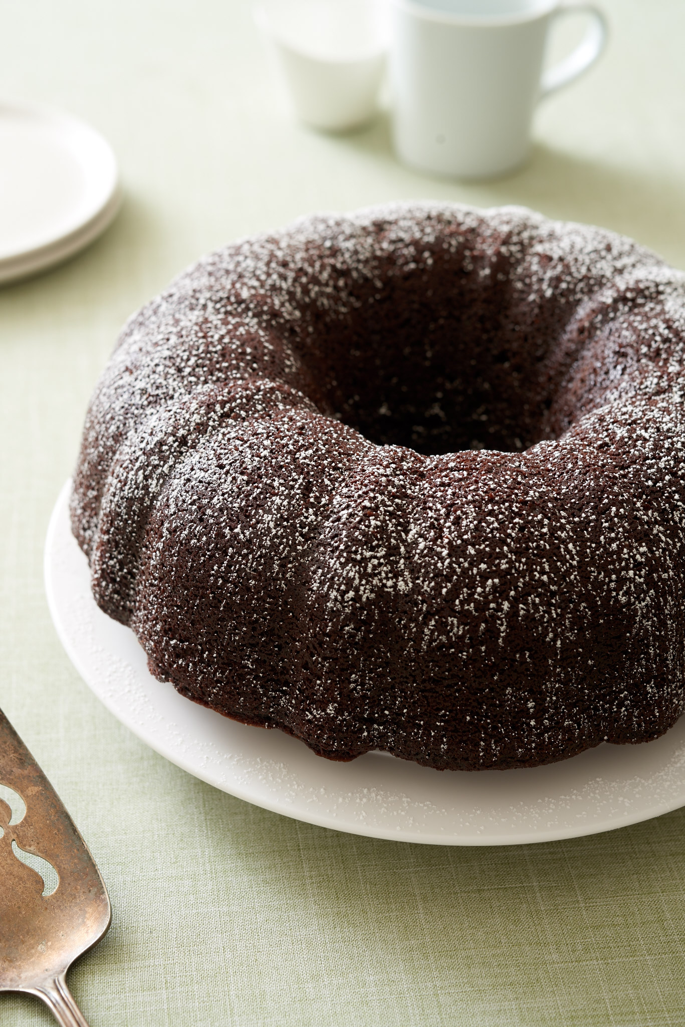 When you want a little something that's sweet and spicy, reach for this Mexican Chocolate Bundt Cake; it's rich and spiced with cinnamon and cayenne pepper. | ibakeheshoots.com