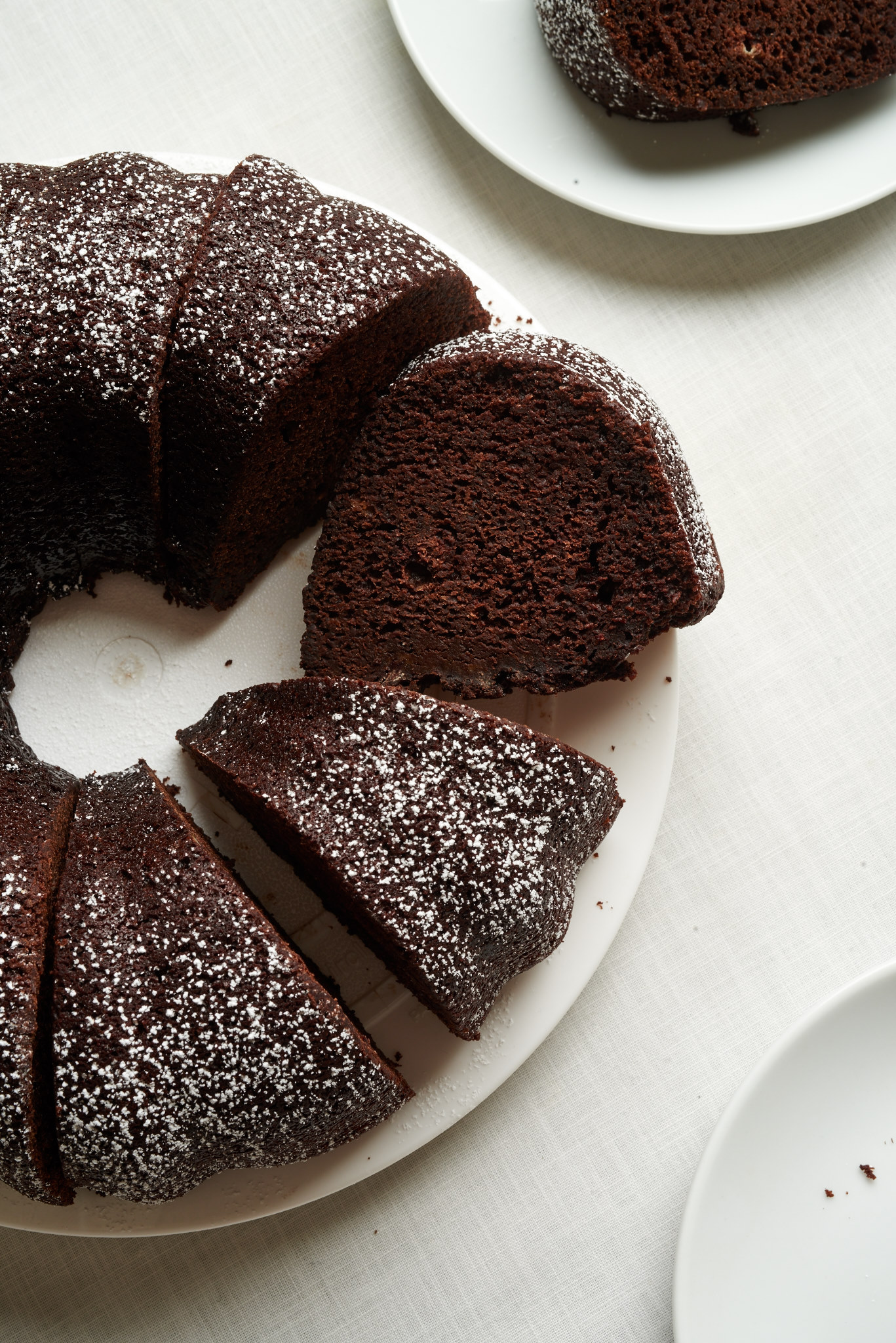 Mexican Chocolate Bundt Cake #Bundtbakers - I bake he shoots