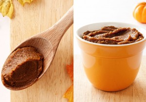 Decadent Pumpkin Butter with tons of sugar-perfect for making brown butter pumpkin shortbread.