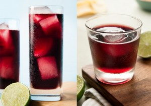 Red wine mixed with coke is an easy summer cocktail that you can enjoy while lounging poolside. Calimocho by ibakeheshoots.com