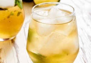 With muddled basil, bourbon and ginger beer, the Basil Kentucky Mule has got a nice kick to it.   ibakeheshoots.com