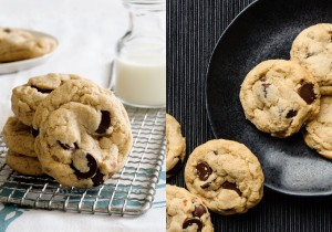 Vegan Ginger Chocolate Chip Cookies